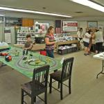 The Annex was the train layout, railroad gift concession and the CSX safely program area.